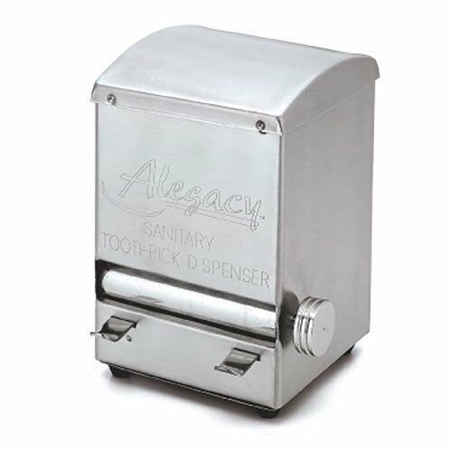 Toothpick dispenser stainless steel roll style alegacy altd5 new ebay - Toothpick dispenser ...