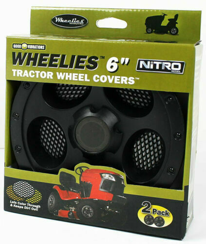 Lawn Mower Wheel Hubcaps : New wheelies lawn garden tractor wheel covers hub caps