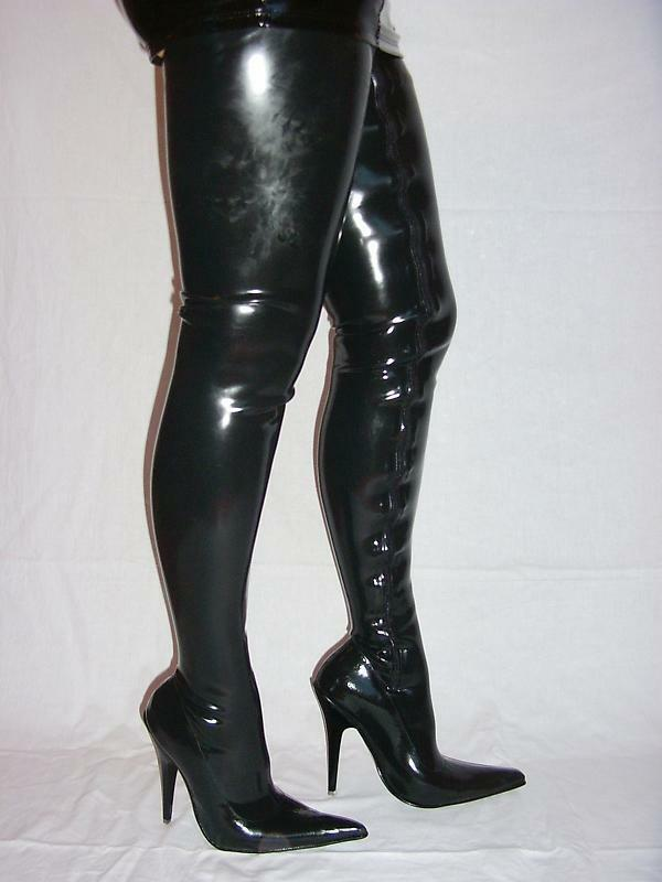 latex overknee stiefel gegossen schwarz 36 37 38 39 40 41 42 43 44 45 46 47 408 ebay. Black Bedroom Furniture Sets. Home Design Ideas