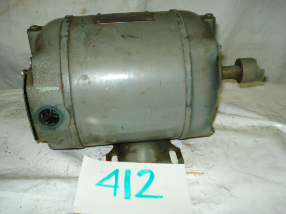 Master electric motor 271899 50hp 1725 h56 frame 230 for Master electric gear motor
