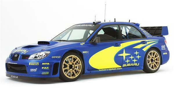 Subaru Impreza Wrc Vinyl Decalsticker Kit In Any Colour