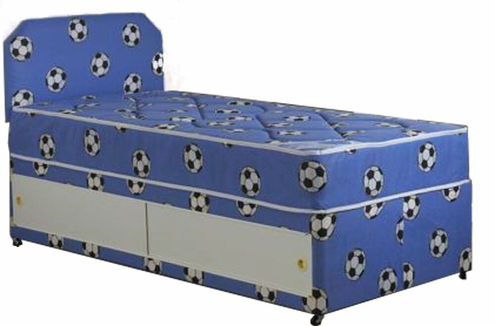 3ft boys single divan bed with mattress and headboard for 3ft divan bed with storage