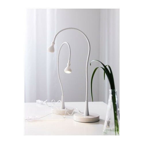 Ideas Habitacion Juvenil Ikea ~ IKEA Jansjo Modern white Table Lamp Desk Work led Light  eBay