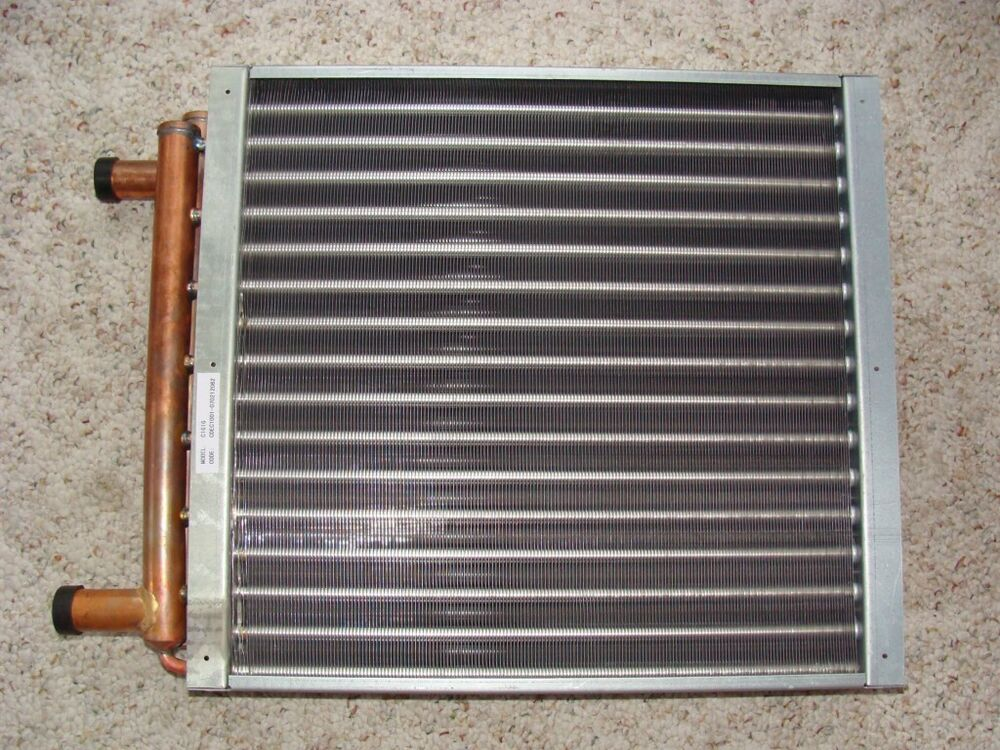 Heating Coil For Boiler ~ Water to air heat exchanger coil outdoor wood
