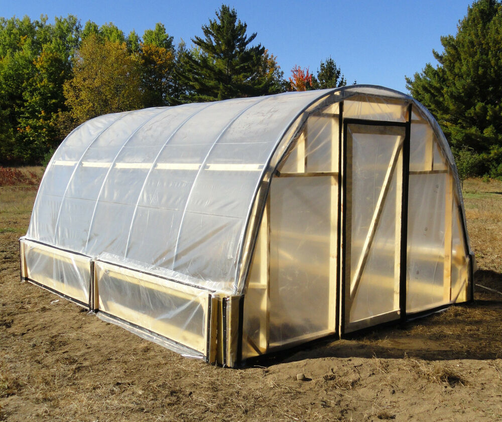 Citaten Hoop House : Greenhouse hoop house plans easy to do ebay