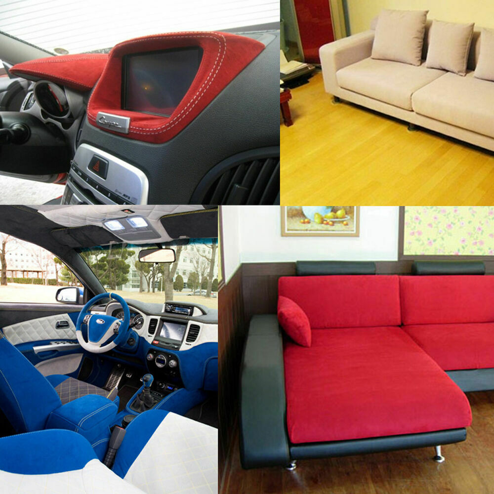 Eco 1 1mm automotive upholstery ultrasuede fabric sofa car - Car interior upholstery material ...