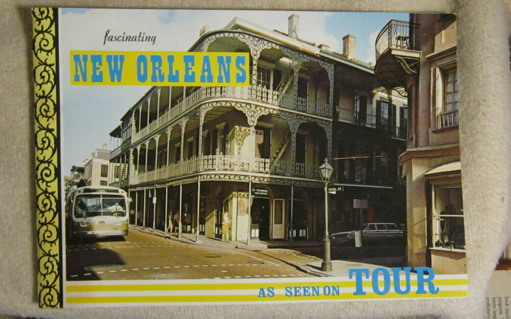 new orleans southern tours bus french quarters mississippi river mardi gras ebay. Black Bedroom Furniture Sets. Home Design Ideas