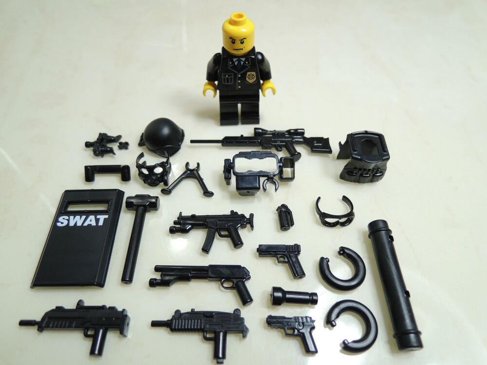 Lego swat team guns
