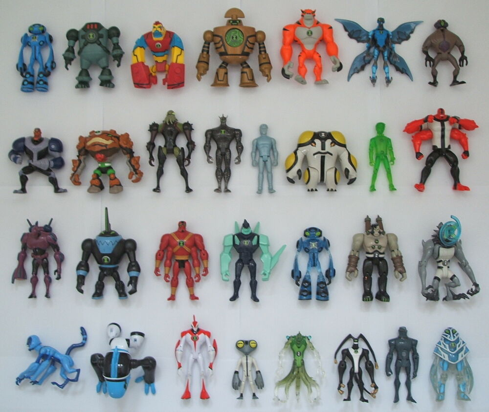Ben 10 alien force action figures many to choose from all vgc ebay - Ben 10 tous les aliens ...