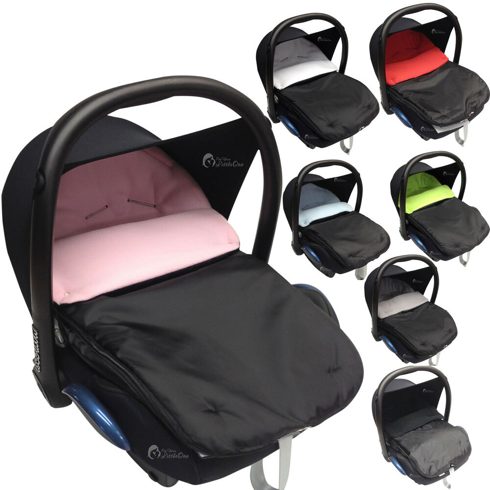 CAR SEAT FOOTMUFF COSY TOES COMPATIBLE WITH MAXI COSI PEBBLE CABRIO FIX BABY