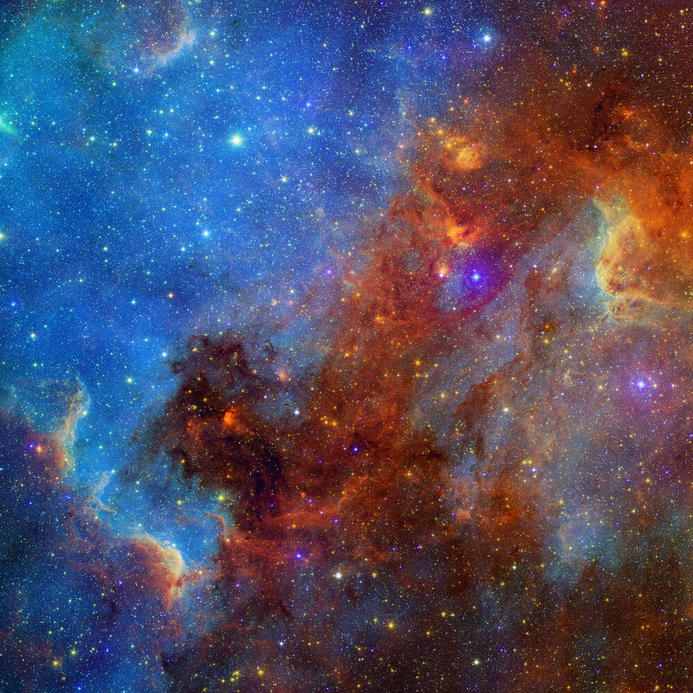 images nebula spitzer space - photo #1
