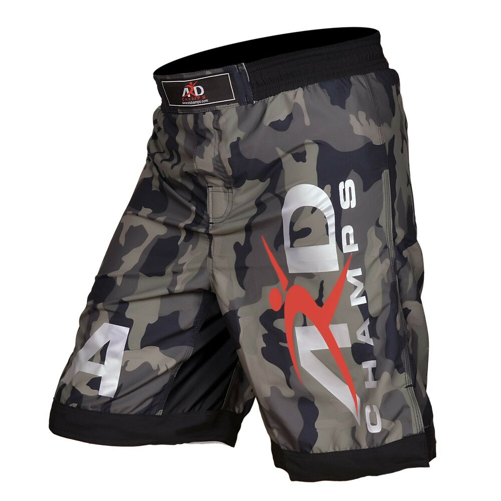 ard chs camo pro mma fight shorts camouflage ufc cage
