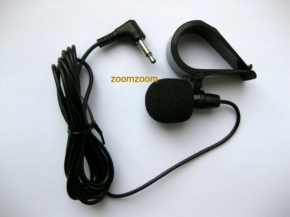 mikrofon f r freisprecheinrichtung sony bluetooth mit stecker mex xa mc10 ebay. Black Bedroom Furniture Sets. Home Design Ideas
