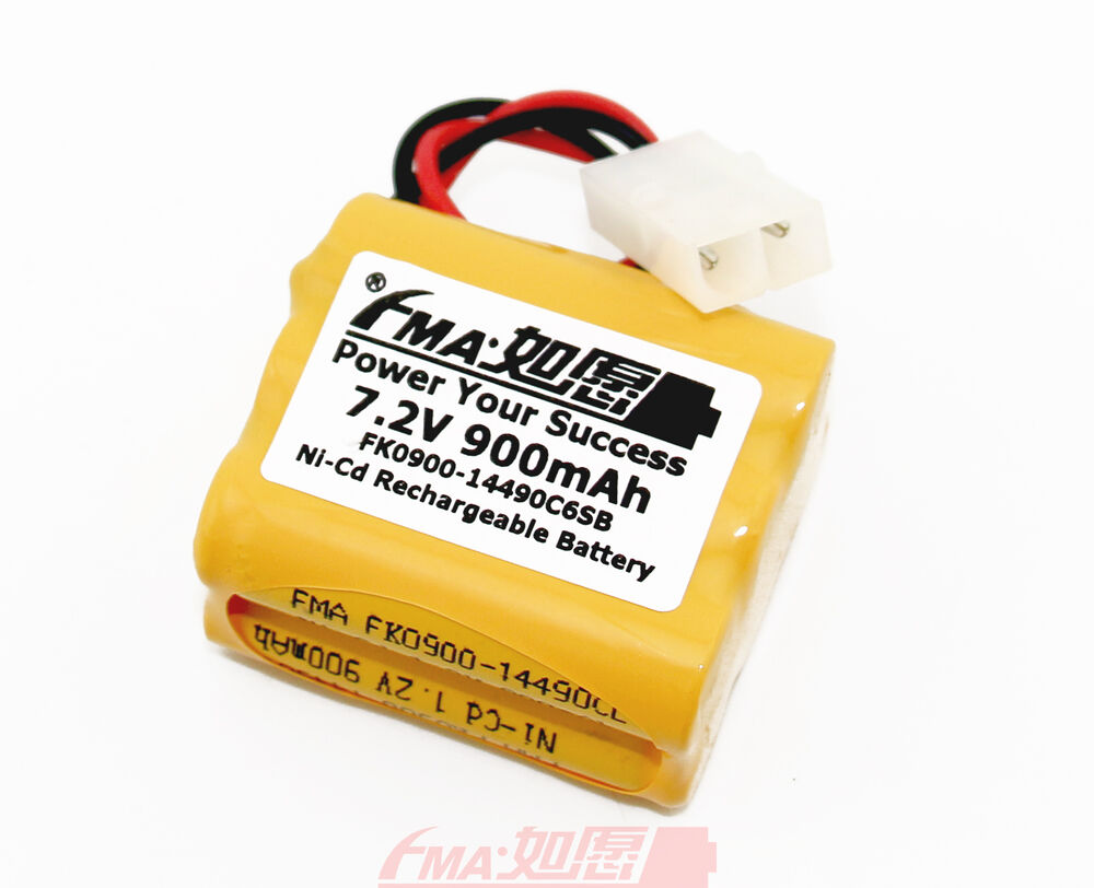 ni cd aa 7 2v 900mah rechargeable battery for model toys w tamiya 6sx ebay. Black Bedroom Furniture Sets. Home Design Ideas