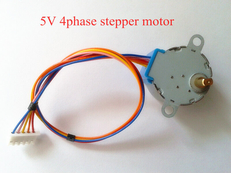 1pcs new small 5v 4 phase reduction stepper step motor for for Very small stepper motor