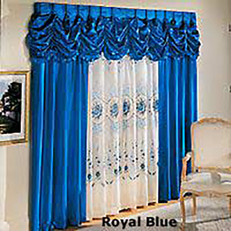 Pinch Pleated Draperies One Rod Drapery And Topper