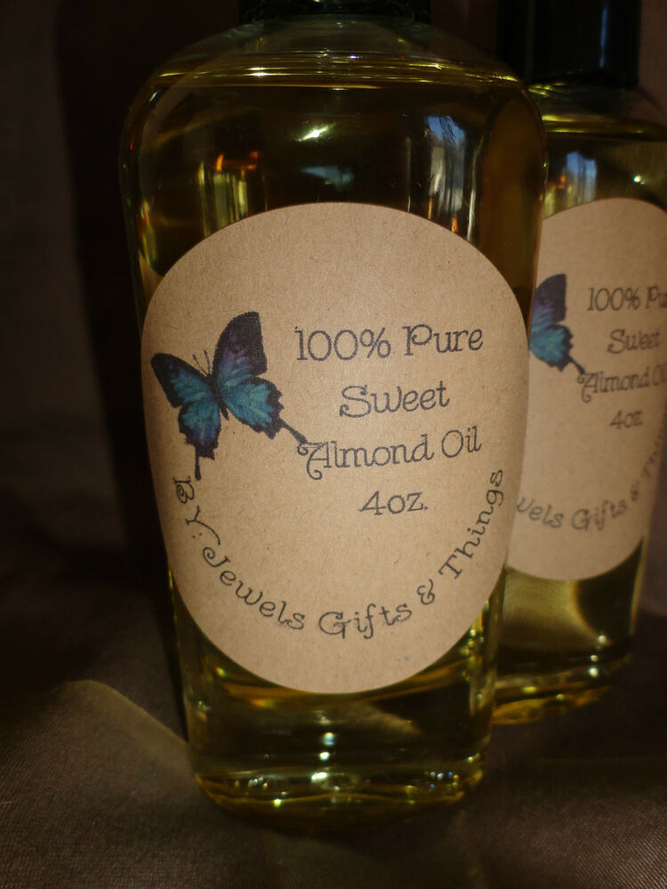 100% PURE Sweet Almond Oil FREE SHIPPING