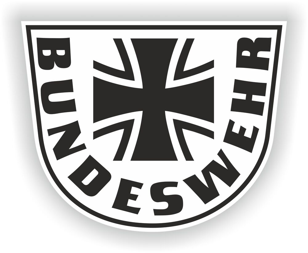 bundeswehr deutschland wappen aufkleber deutsch motorrad helm autoaufkleber arme ebay. Black Bedroom Furniture Sets. Home Design Ideas