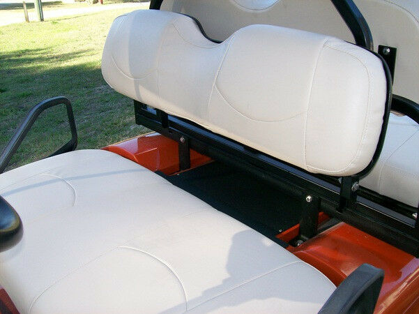club car ds 39 00 up golf cart front seat replacement deluxe covers set ivory ebay. Black Bedroom Furniture Sets. Home Design Ideas