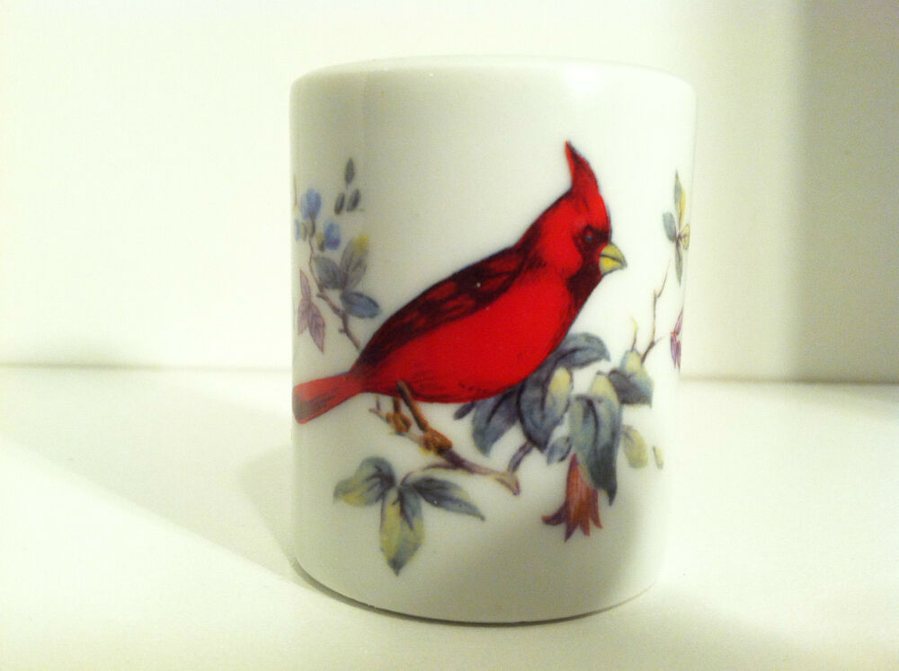 vintage funny design cardinal taper candle holder made in west germany ebay