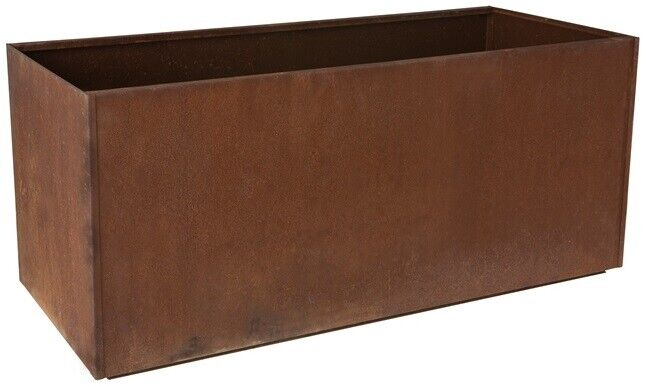 Trough Metal Corten Steel Planter Box Rust Extra Large