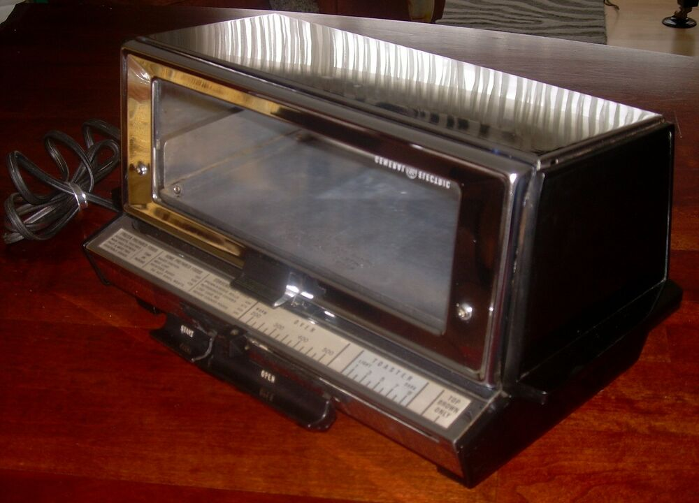 Vintage General Electric Deluxe Toast R Oven Toaster Oven
