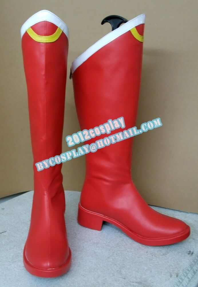 how to make sailor moon boots
