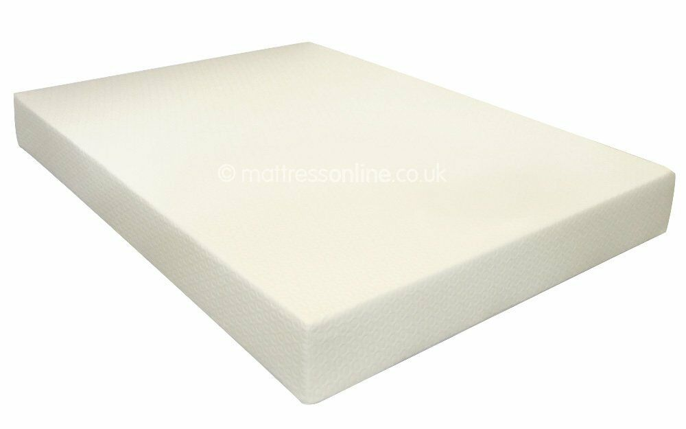 Luxury Memory Foam Mattress 3ft Single 4ft6 Double 5ft King Quilt Duvet Offer Ebay