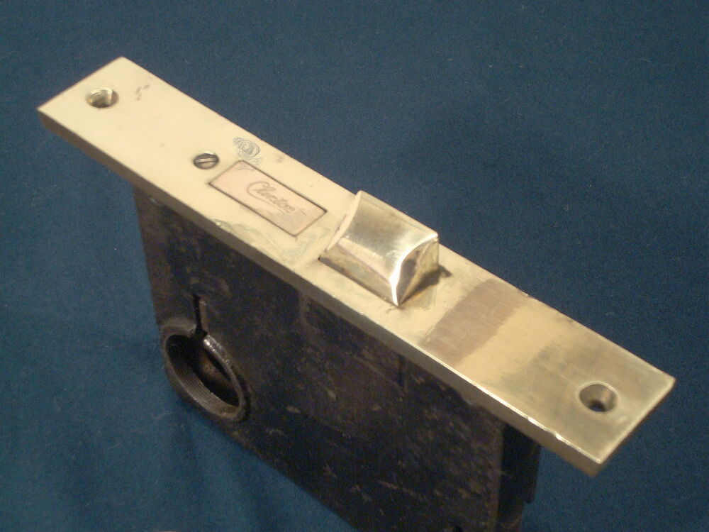 Antique Clinton Entry Door Thumblatch Mortise Lock Latch