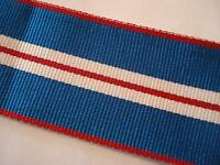 Queens Golden Jubilee Medal Ribbon, Full Size, Army, British, Military, 5 metres