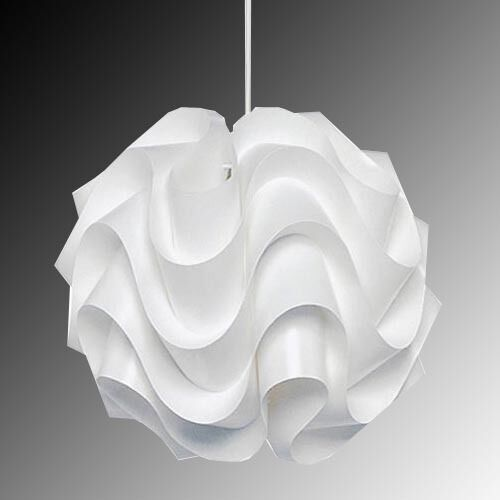 modern le klint 172b pendant light white plastic shade