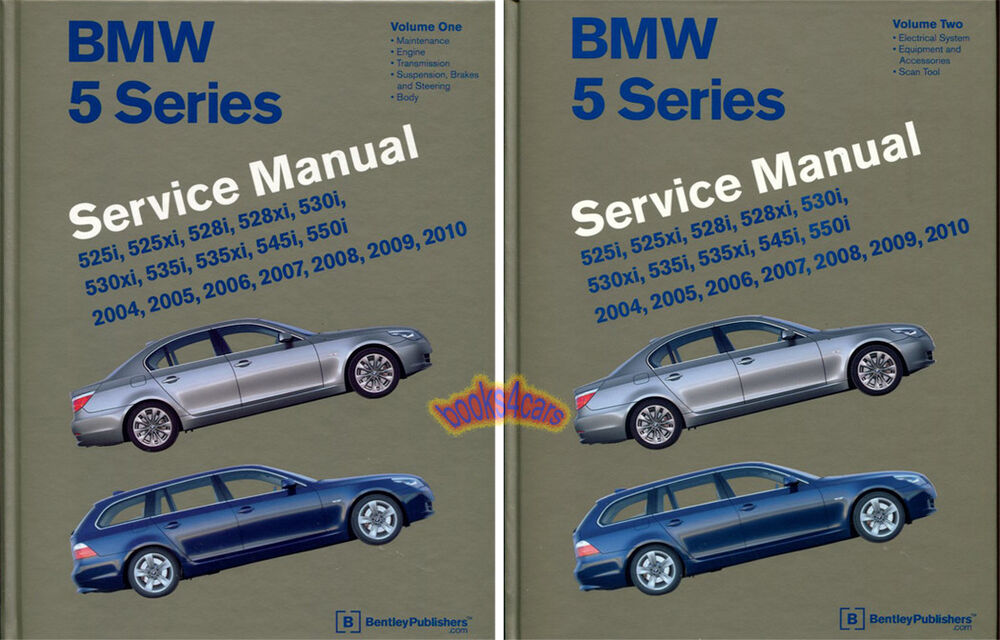 shop manual service repair bentley bmw 5