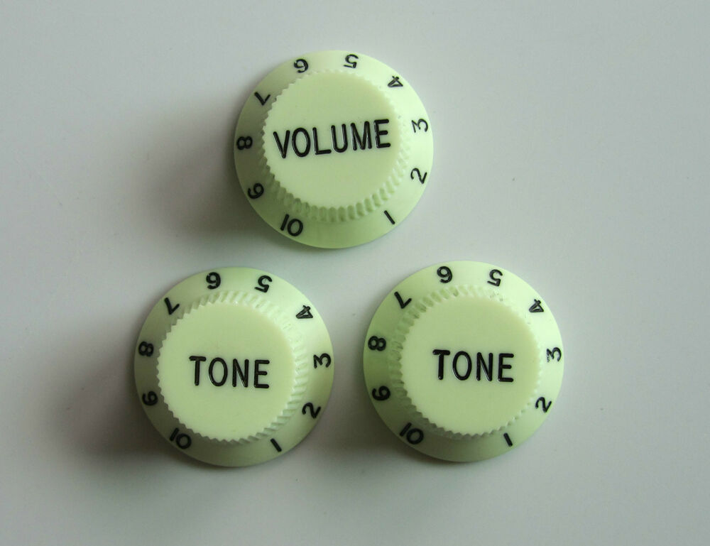 Mint Green St Style Guitar Knobs Volume And Tone Knobs For
