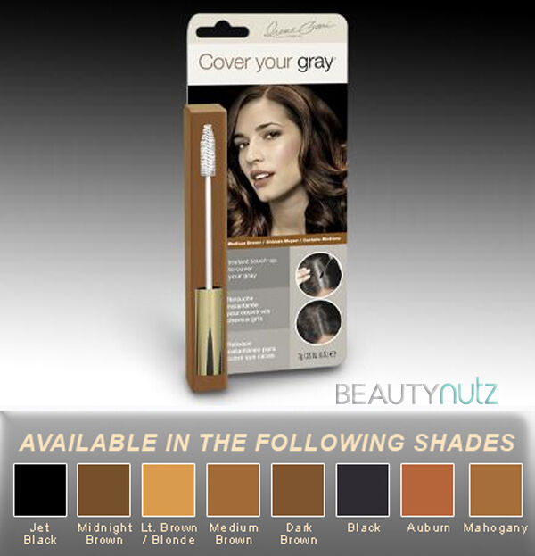 Cover Your Gray Brush In Instant Touch Up Hair Color