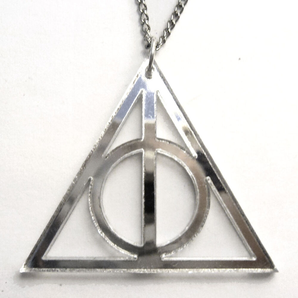Colgante harry potter collar las reliquias de la muerte for Espejo harry potter