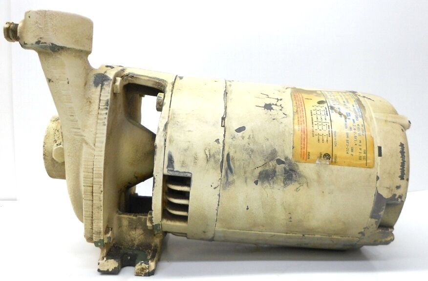 Century Electric Motor 3 4hp Cat H446 Frame J56j With
