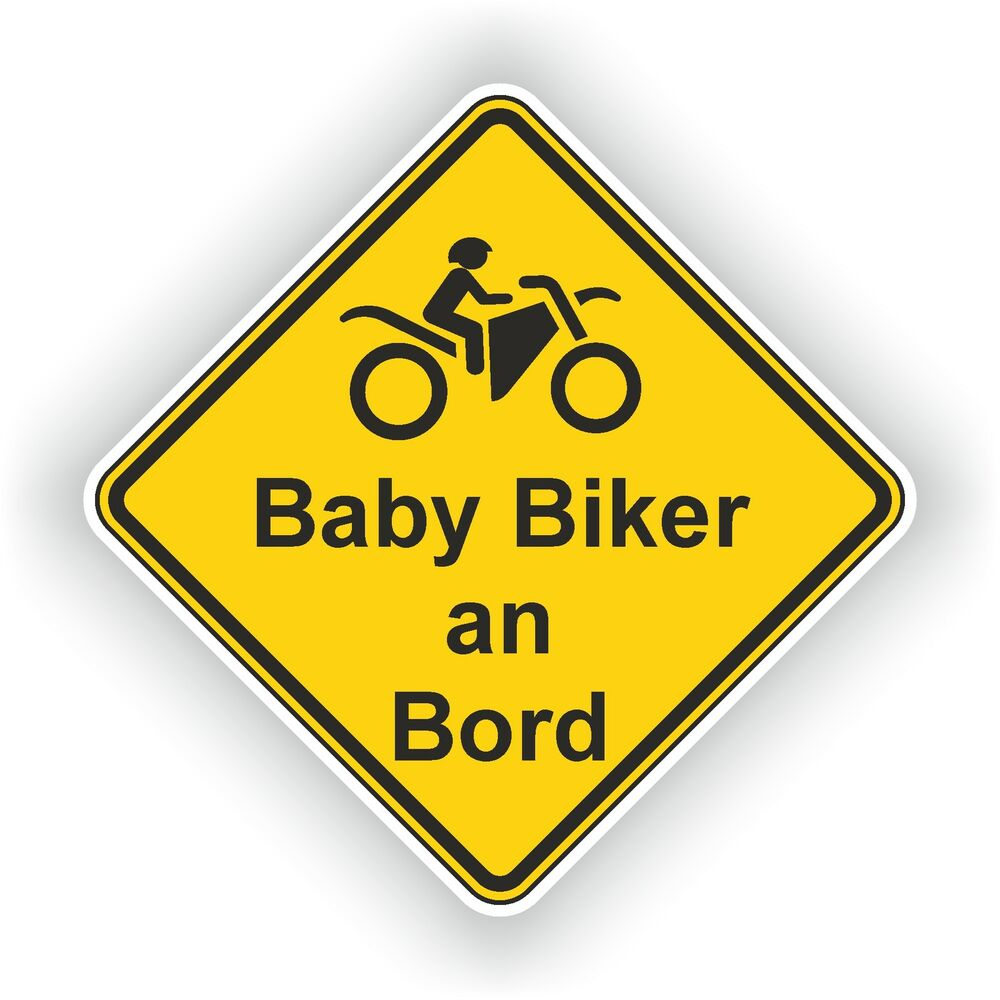 baby biker an bord motocross enduro aufkleber autoaufkleber lkw 10cm x 10cm 01 ebay. Black Bedroom Furniture Sets. Home Design Ideas
