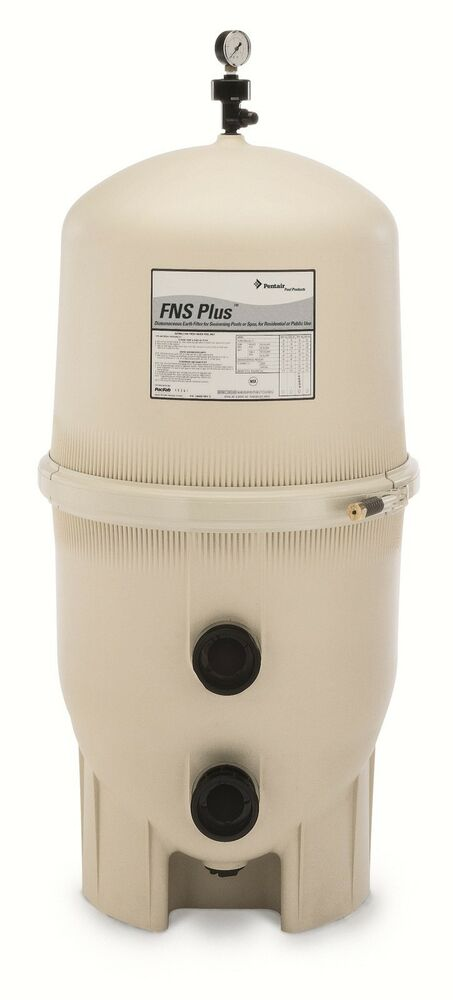 how to clean pentair fns plus pool filter