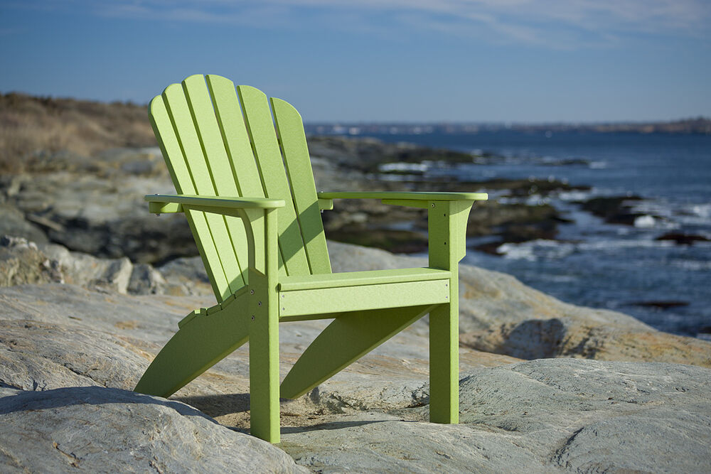 Be Green Recycled Milk Jug Adirondack Chair Poly Wood Ebay