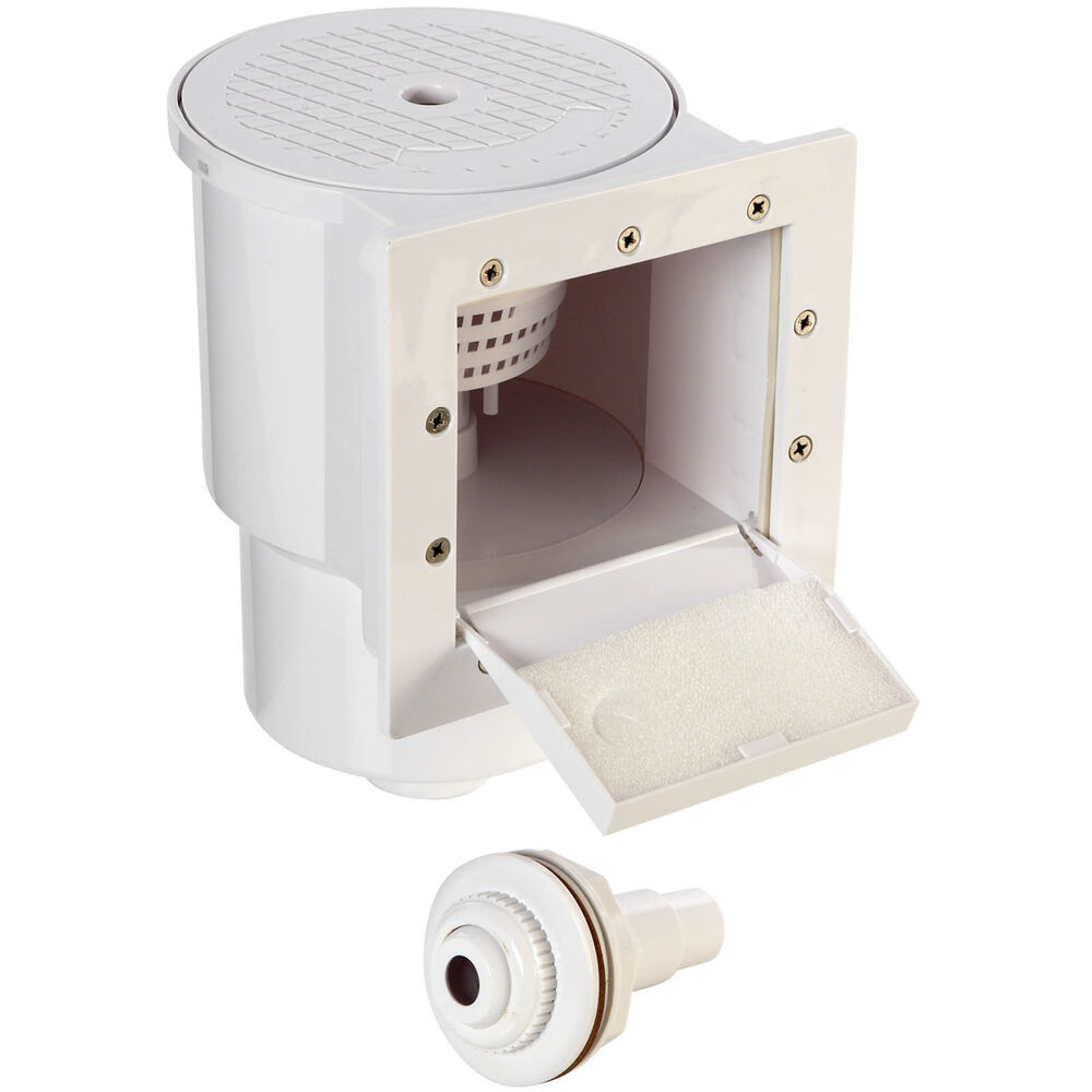 Square Skimmer System For Above Ground Pools Ebay