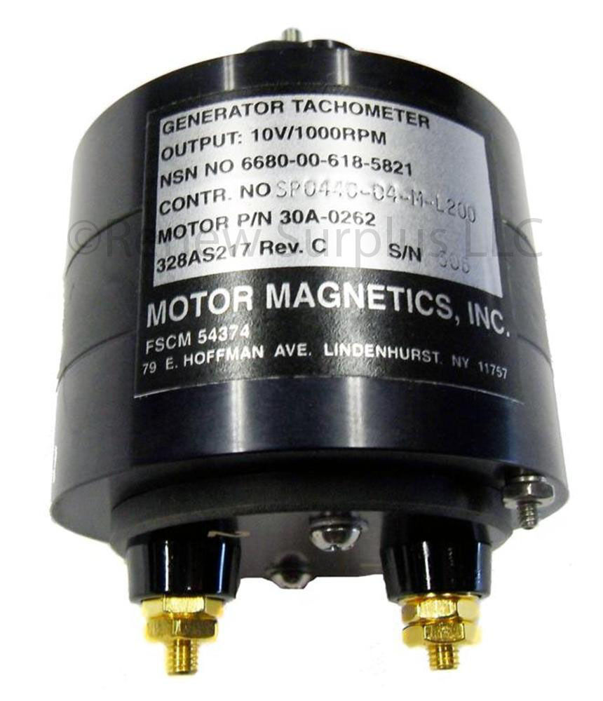 New sealed motor magnetics tachometer generator 10v 1000 for 1000 rpm dc motor