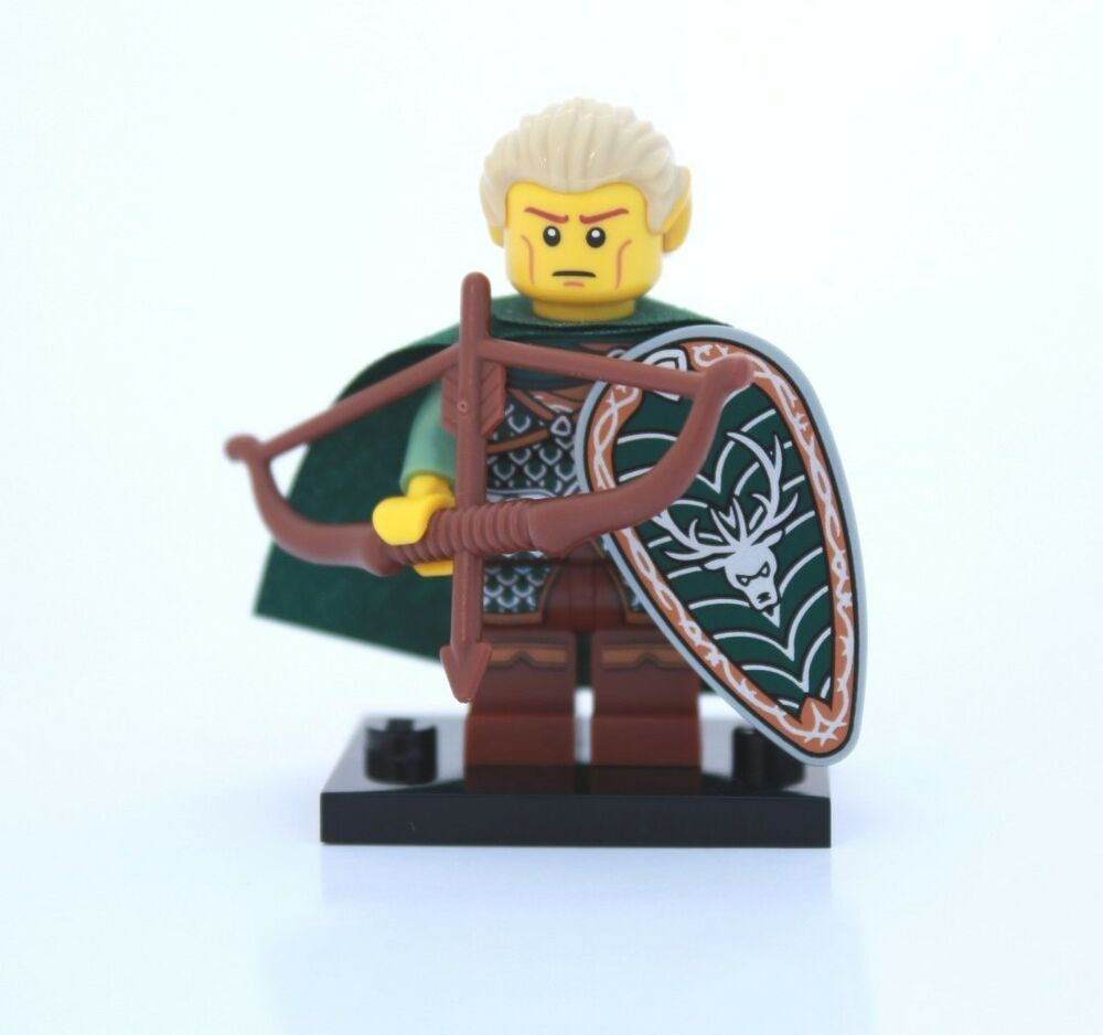 new lego minifigures series 3 8803 elf elven archer forestman ebay. Black Bedroom Furniture Sets. Home Design Ideas