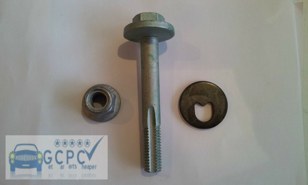 Ford Camber >> Ford Focus Mk1 Mk2 / Volvo S40 rear axle lower arm bolt, washer, nut | eBay