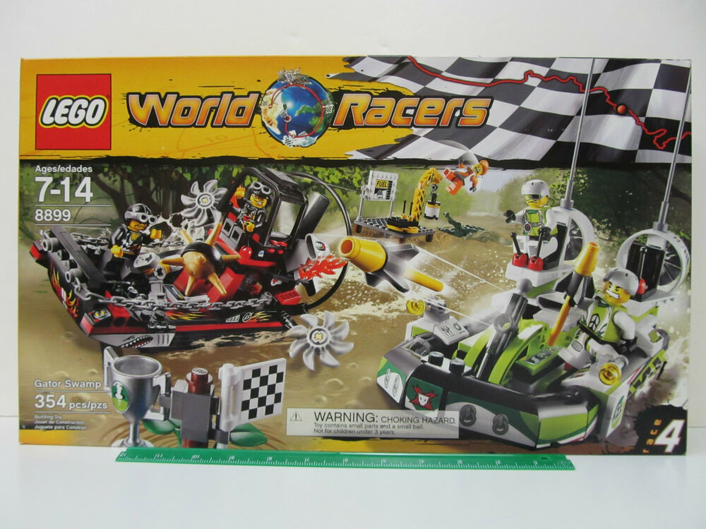 1 Toy For Ages 1 To 7 : Lego world racers gator swamp race piece