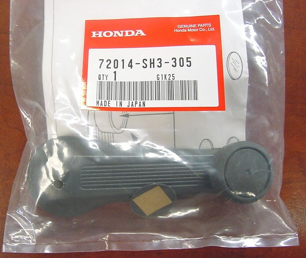 honda accord civic prelude window crank handle  sh  oem  ebay