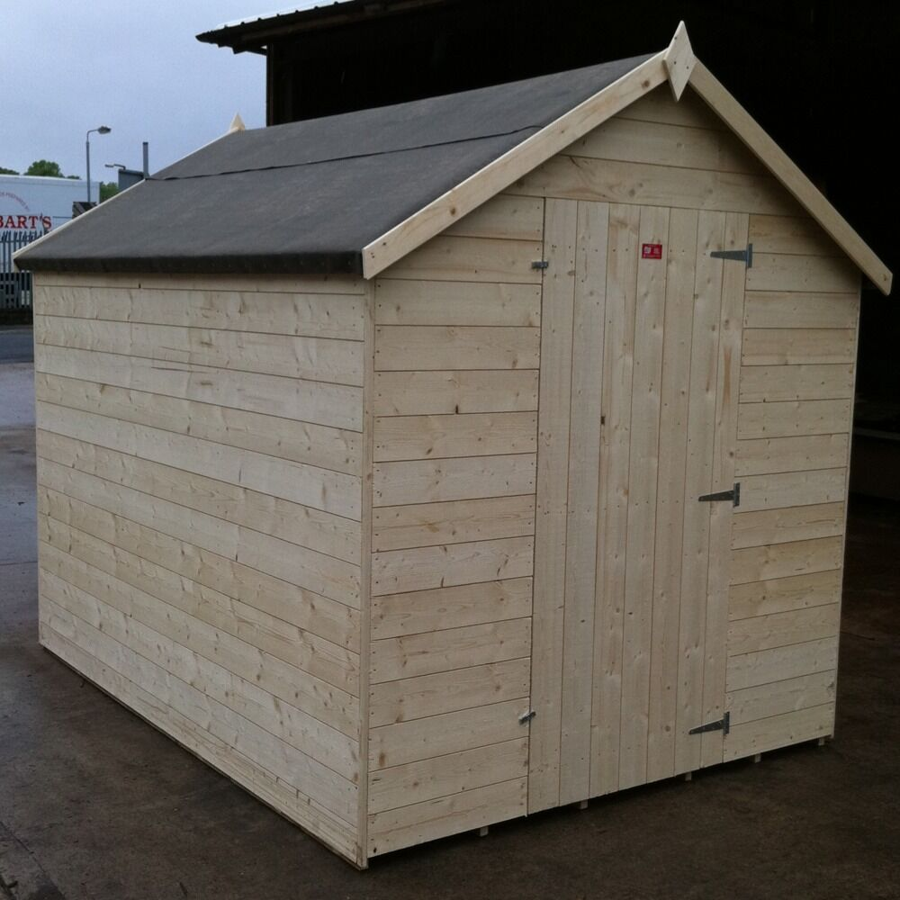 1446 Best Potager Garden Sheds Rooftop Gardens: 10X6 NEW GARDEN SHED Plus 'LOCK' HEAVY 14MM T & G