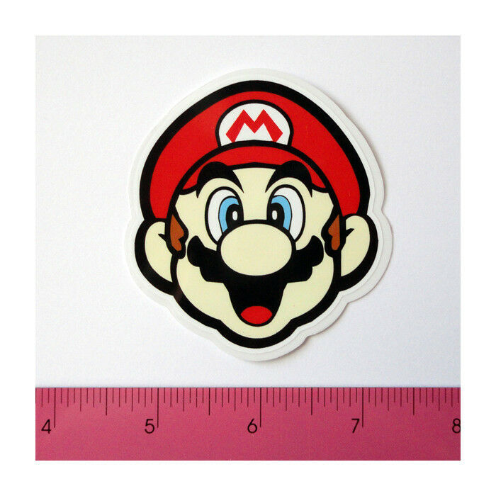 Skateboard car window bumper laptop pvc clear decal sticker mario happy face ebay