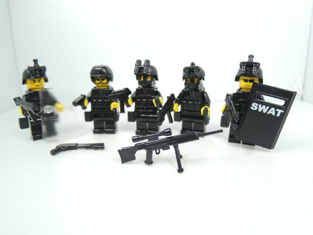 no.5-26) custom swat police navy seal lego gun army weapons LEGO ...