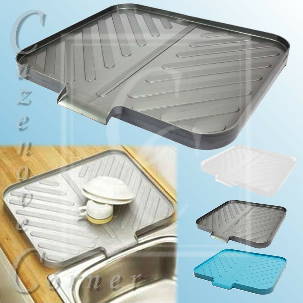 kitchen sink plate drainer worktop drainer tray caravan sink drainer portable 5897