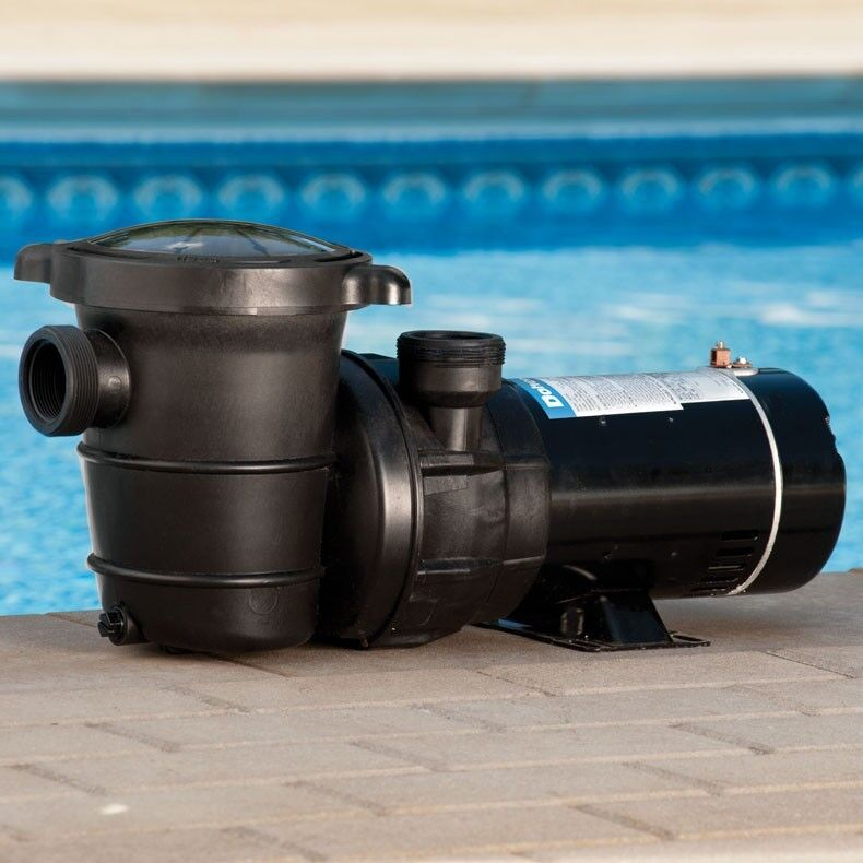 Doheny 39 s 1 5 hp above ground swimming pool pump ebay for 1 2 hp pool motor